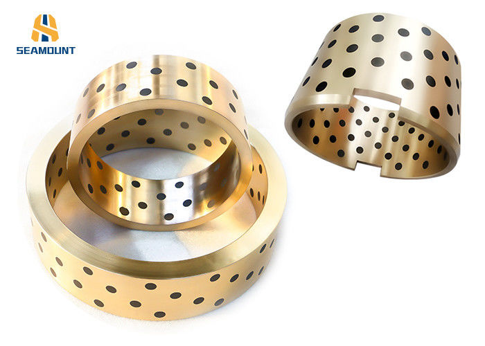 High Precision JDB Bronze Graphite  Bearing  Good Wear Resistance