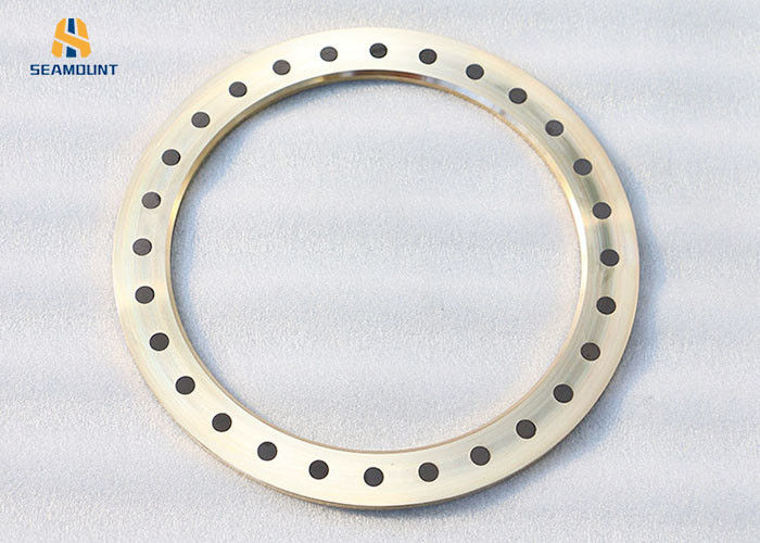 Solid Bronze Self Lubricating Thrust Washer High Temperature Resistant