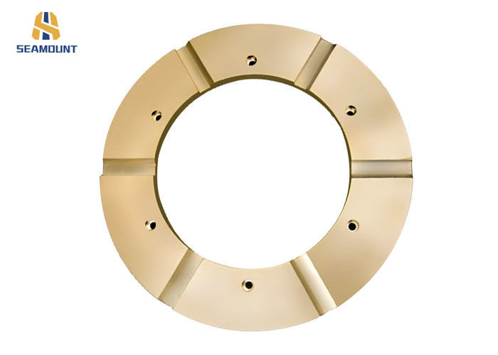 OEM CNC Machining Bronze Thrust Washer For Crusher